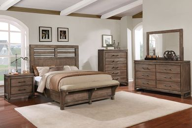 Round Rock King Bedroom Set