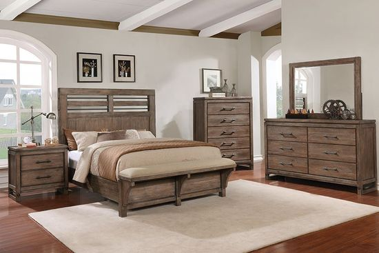 Picture of Round Rock King Bed Set