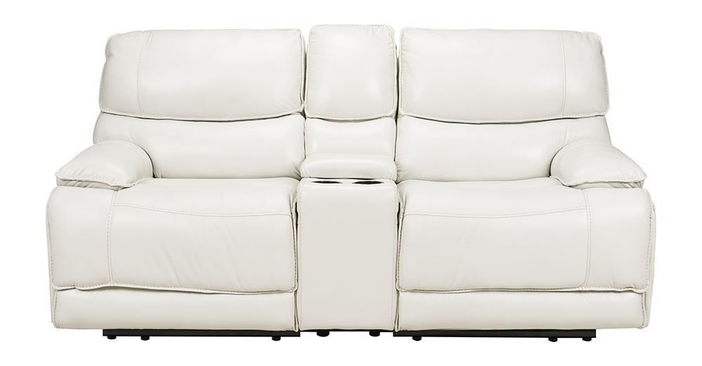 Picture of Sky Ice Power Reclining Console Loveseat