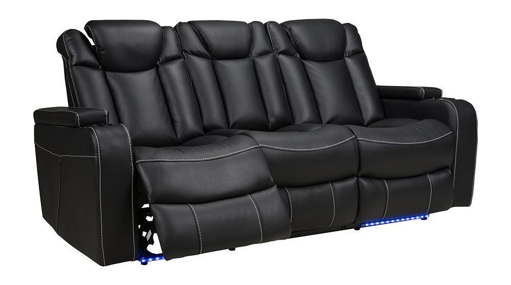 Picture of Laney Black Power Reclining Sofa