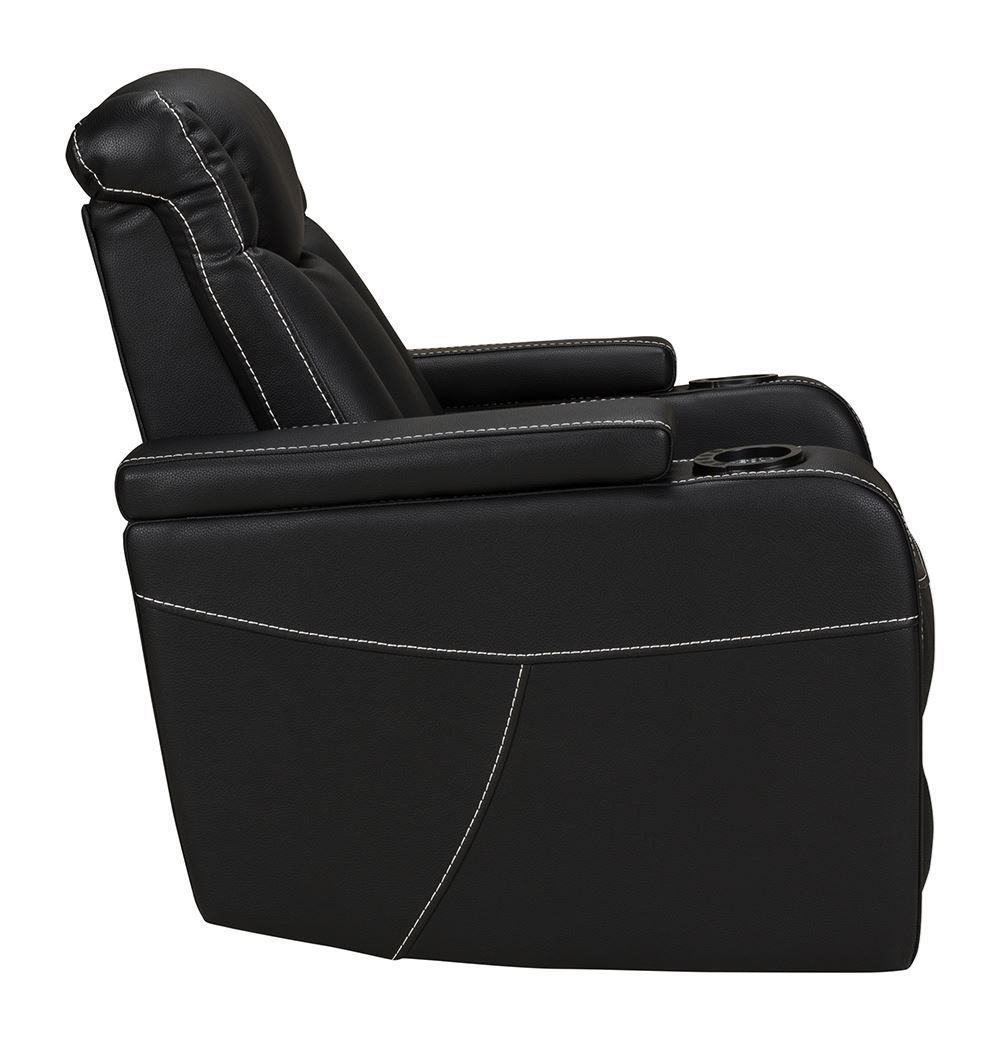 Picture of Laney Black Power Recliner
