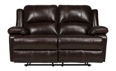 Ace Fudge Reclining Loveseat