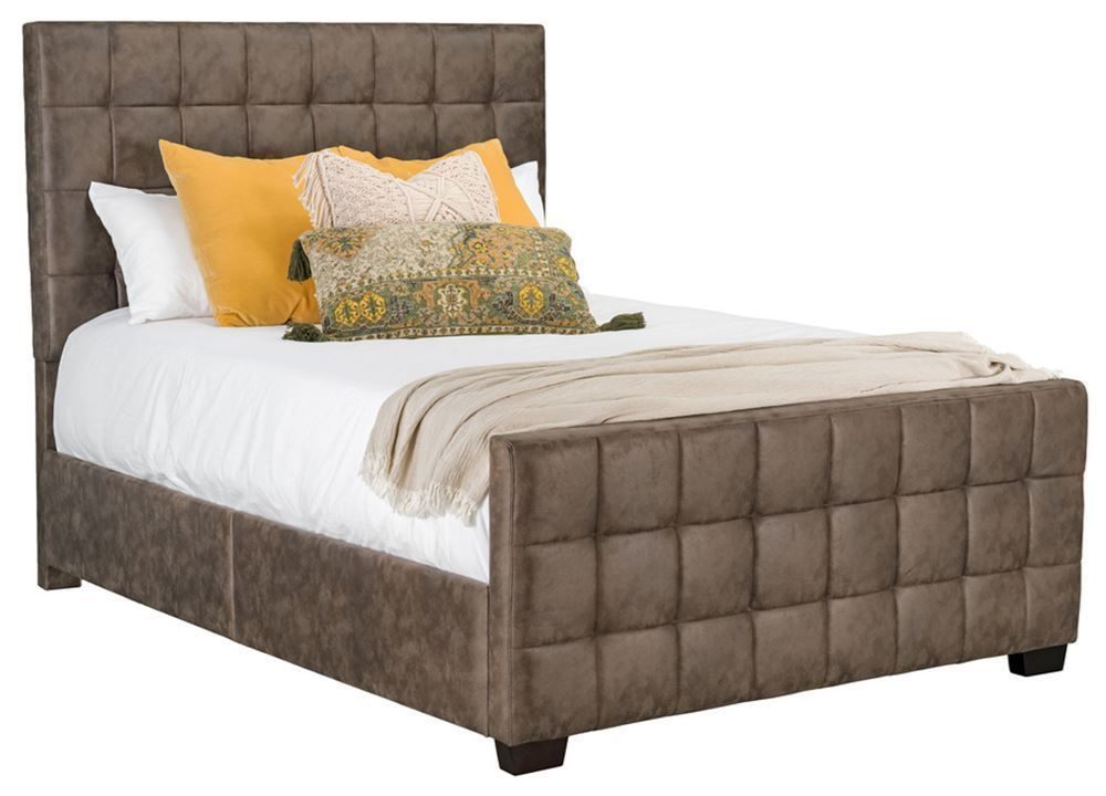Picture of Altura Brown Queen Upholstered Bed Set
