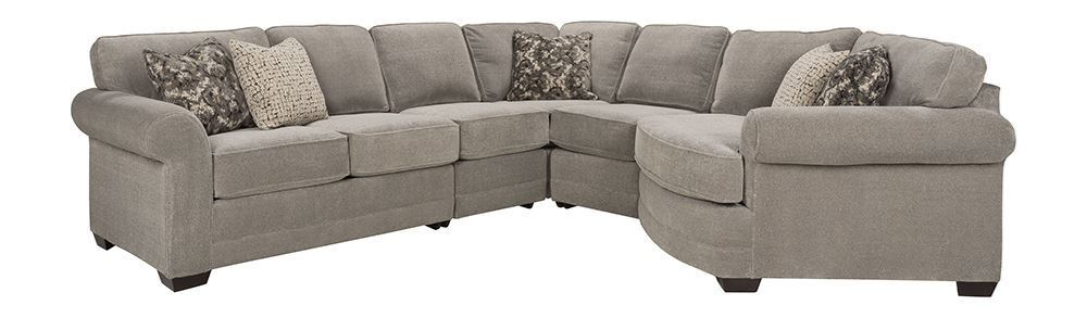 Picture of Domain Dove Five Piece Sectional