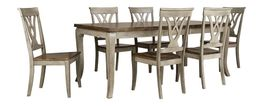 Kirby Dining Table with Six Chairs