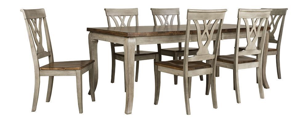Picture Of Kirby Dining Table With Six Chairs