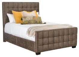 Altura Brown King Upholstered Bed Set