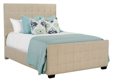 Altura Sand Queen Upholstered Bed Set