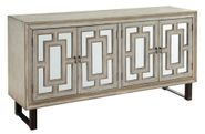 Garner Four Door Media Credenza