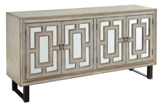 Picture of Garner Four Door Media Credenza