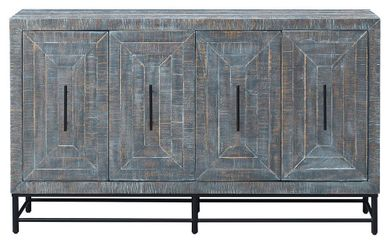 Bangle Four Door Media Credenza
