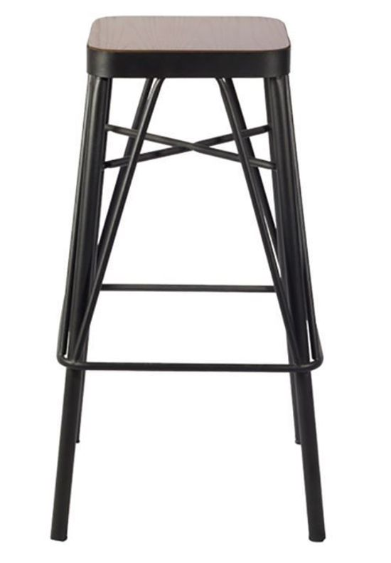 Picture of Allan 29 Inch Stationary Barstool