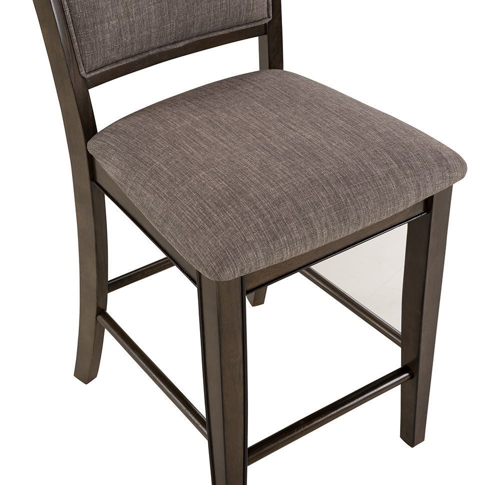 Picture of Fulton Grey Counter Upholstered Stool