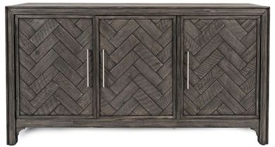 Gramercy Platinum Three Door Cabinet