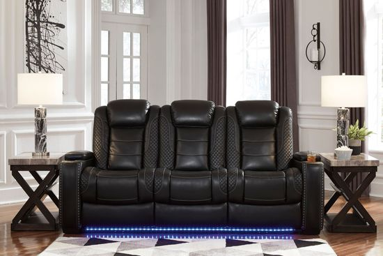Picture of Party Time Midnight Power Reclining Sofa