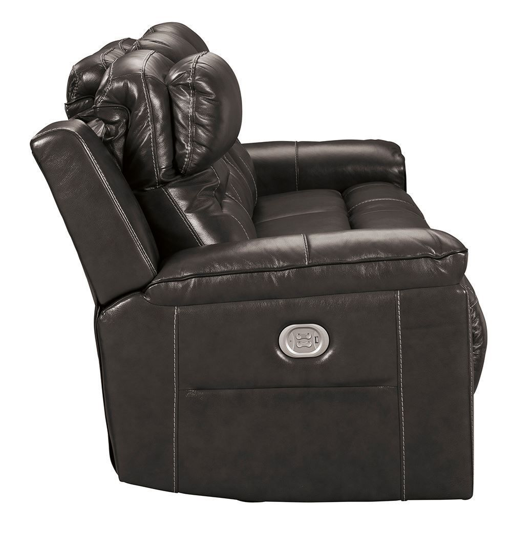 Picture of Pomellato Charcoal Power Reclining Sofa