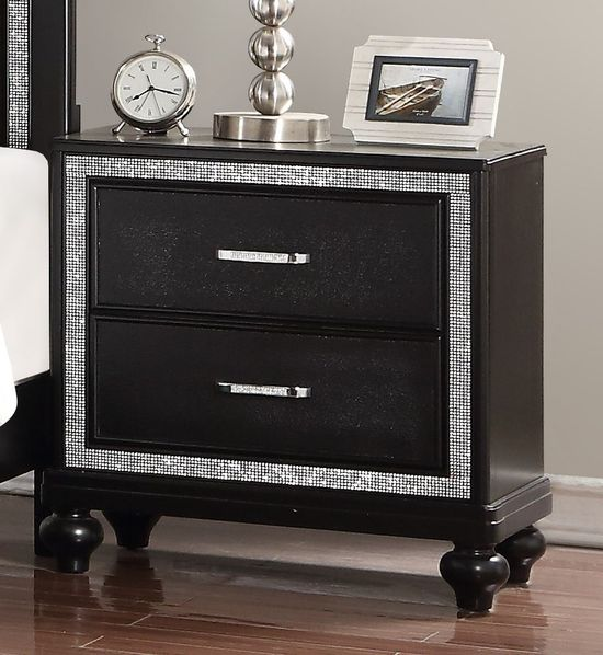 Picture of Kanti Black Nightstand