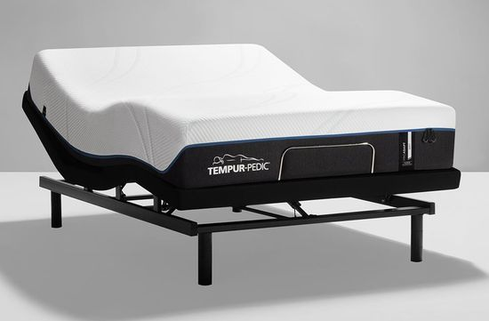 Picture of Tempur Pedic Pro Adapt Soft Ease Adjustable Base Full Mattress Set
