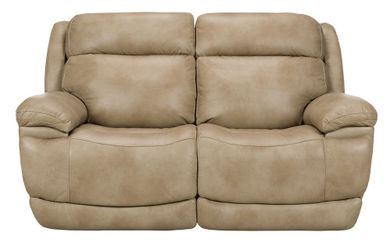Luxe Linen Power Reclining Loveseat