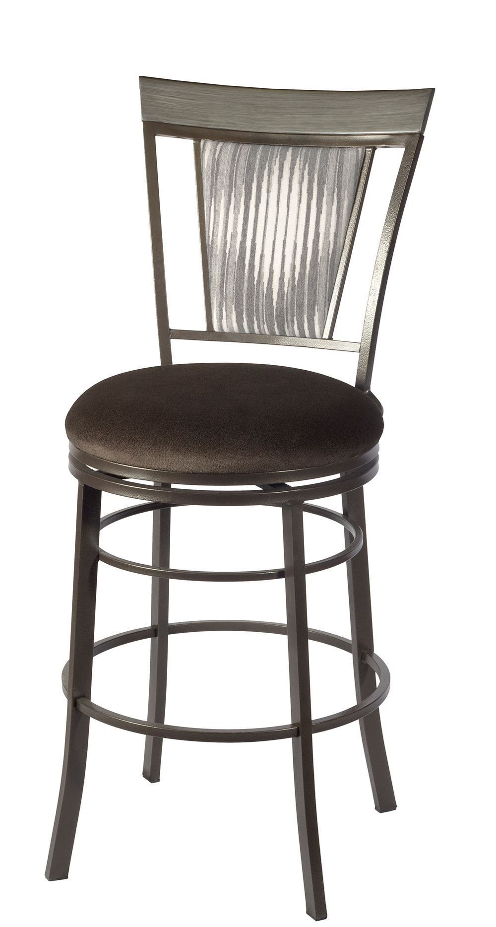 Malorie 24 Inch Swivel Counter Stool The Furniture Mart