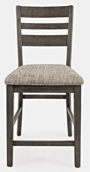Altamonte Grey Ladderback Stool