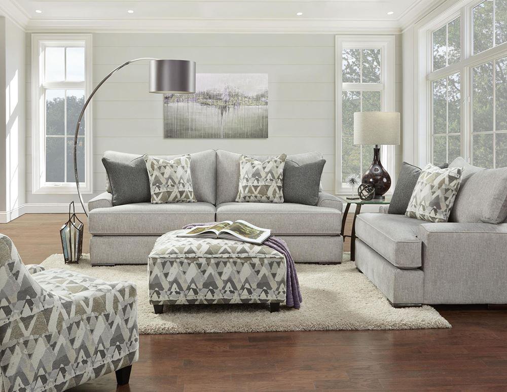 Picture of Alton Silver Sofa