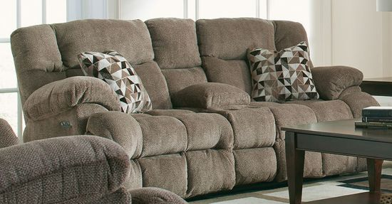 Picture of Brice Power Reclining Console Loveseat