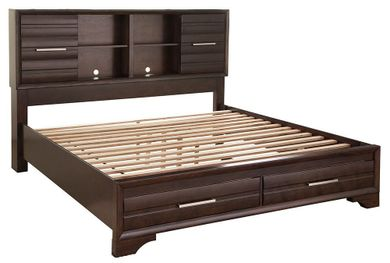 Andriel King Storage Bed Set