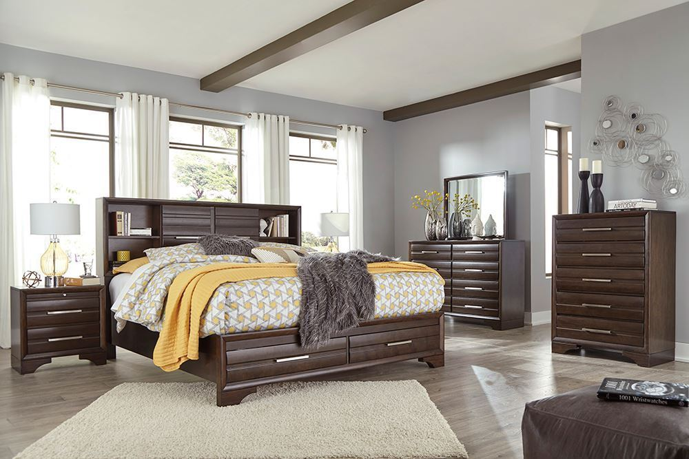 Picture of Andriel King Storage Bedroom Set