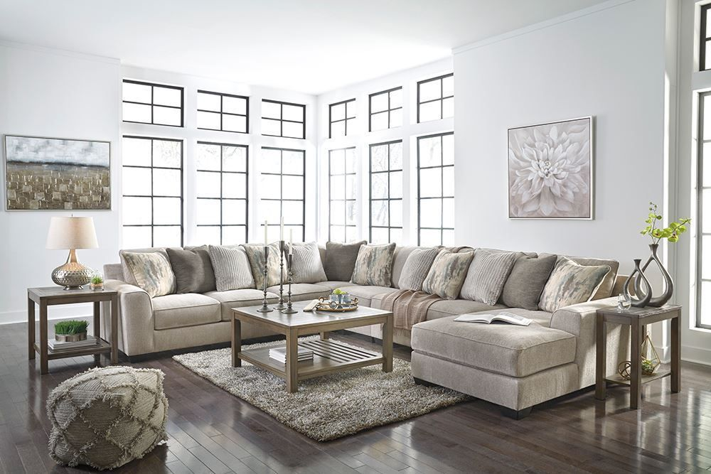 Picture of Ardsley Pewter Five Piece Sectional