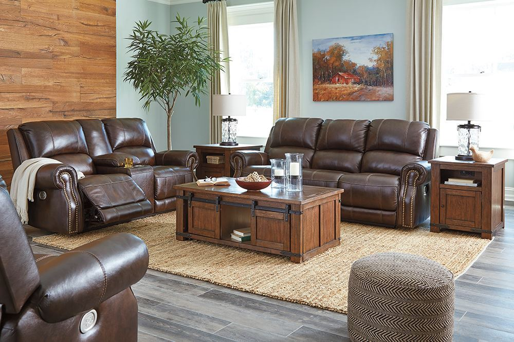 Picture of Buncrana Chocolate Power Console Loveseat