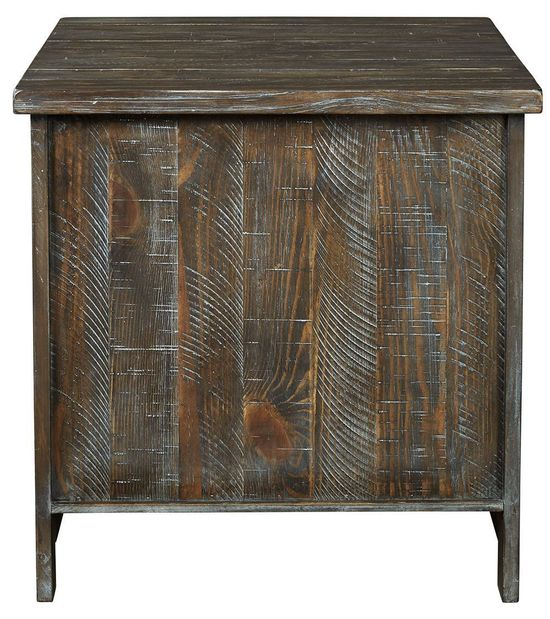 Picture of Danell Ridge Brown Rectangular End Table