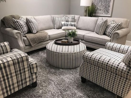 Picture of Paperchase Berber Three Piece Sectional