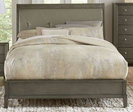 Cotterill Grey Queen Bed Set
