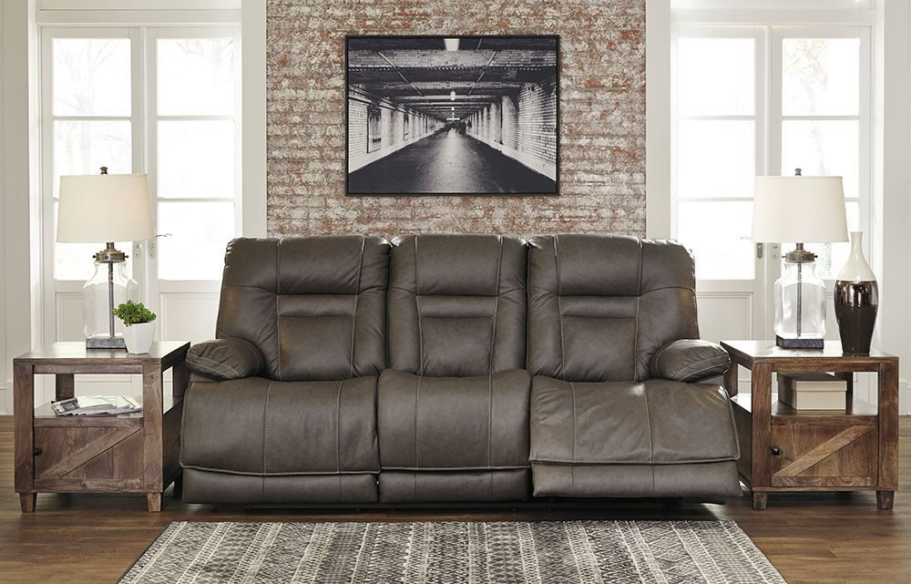 Picture of Wurstrow Smoke Power Reclining Sofa