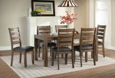 Potter Dining Table with Six Chairs