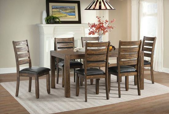 Astonishing Potter Dining Table With Six Chairs Ibusinesslaw Wood Chair Design Ideas Ibusinesslaworg