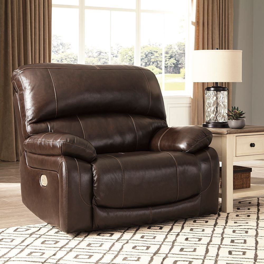 Picture of Hallstrung Chocolate Power Recliner