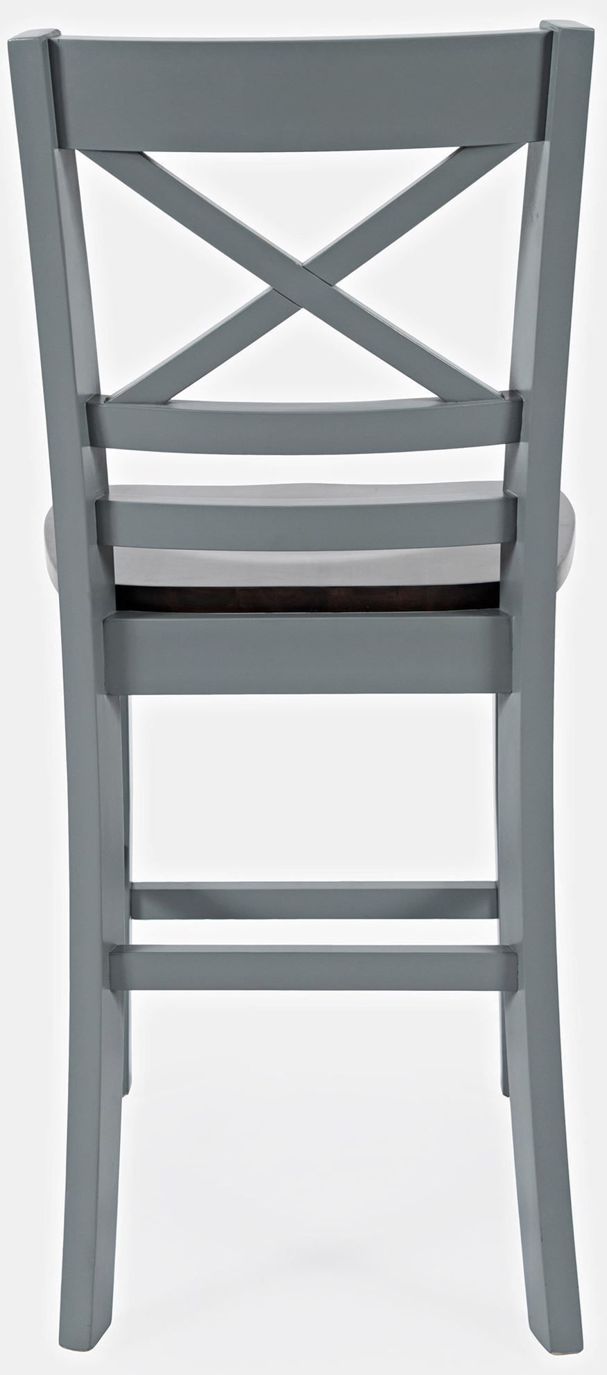 Picture of Asbury Park Grey X Back Stool