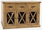 Telluride Three Drawer Sideboard