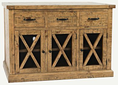 Telluride Three Drawer Sideboard