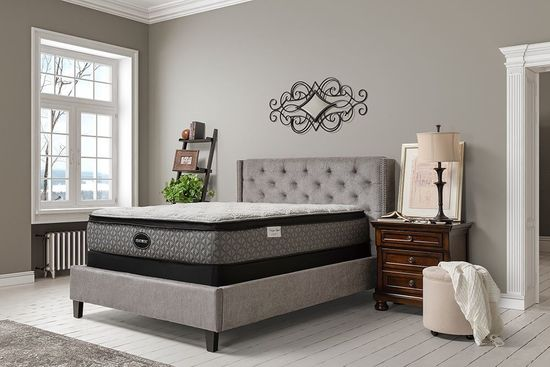 Picture of Restonic Liberty Euro Top Queen Mattress Set