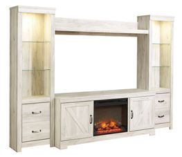 Bellaby Entertainment Wall with Fireplace Option