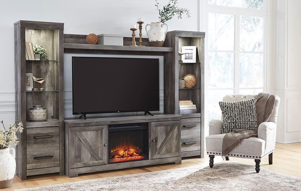 Picture of Wynnlow Entertainment Wall with Fireplace Option