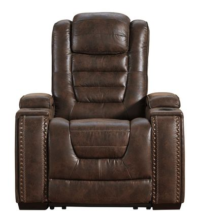 Game Zone Bark Power Recliner