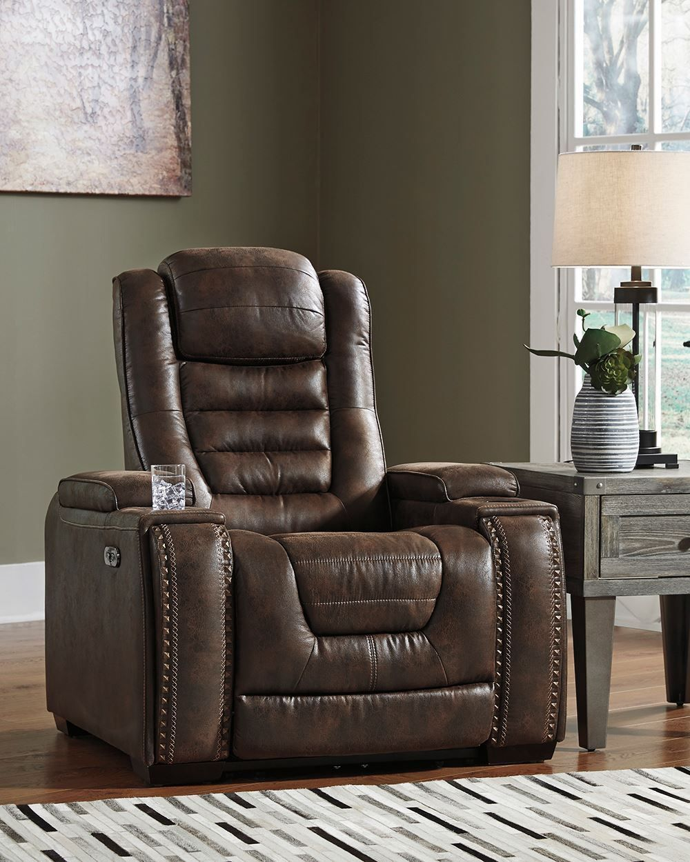 Picture of Game Zone Bark Power Recliner