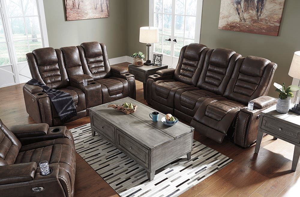 Picture of Game Zone Bark Power Reclining Sofa
