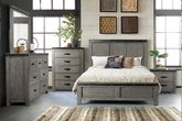 Wade King Panel Bedroom Set