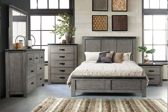 Picture of Wade King Panel Bedroom Set