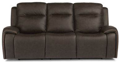 Solo Black Power Reclining Sofa